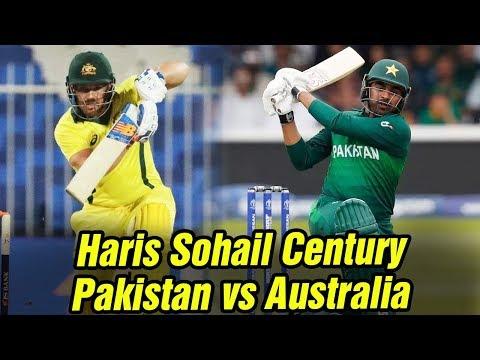 Amazing Batting By Haris Sohail | Pakistan Vs Australia | Highlights | PCB