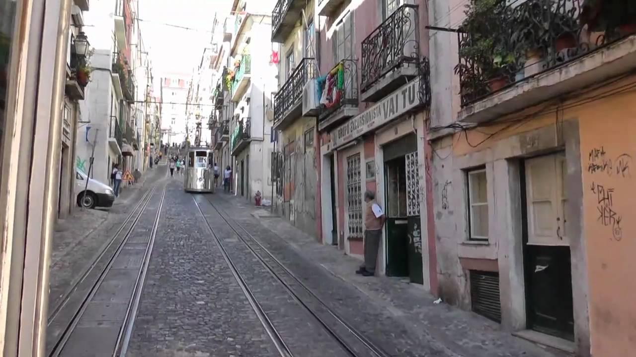 Lisbon Ascensor Da Bica Youtube