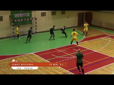 Select futsal I lyga: LEU - Šviesa 8:5  Vilniaus kolegija
