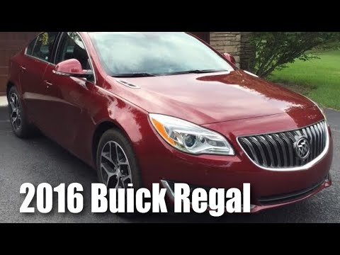 What I love and hate about the 2016 Buick Regal T near luxury sedan