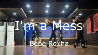 Bebe Rexha-I'm a Mess Dance Tutorial(mirror mode) Choreography by WonHye Kim