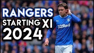 Rangers 'Title Winning' Starting XI in 2024 - Football Manager 2018 Simulation