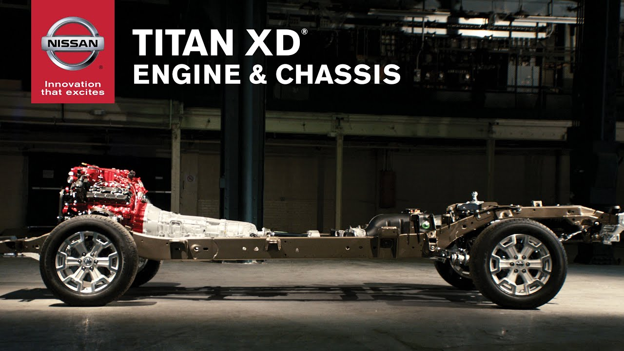 New Nissan Titan >> 2016 Nissan TITAN XD Engine and Chassis - YouTube
