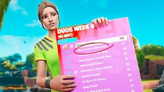 ALMOST QUALIFIED FOR THE FORTNITE WORLD CUP