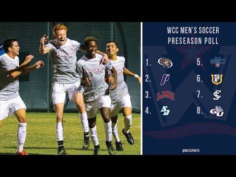 2017 WCC Men's Soccer Preseason Poll