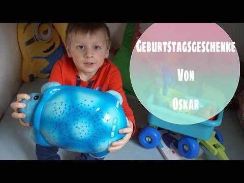 Geburtstaggeschenke von Oskar- Oskar  wird 2 Jahre