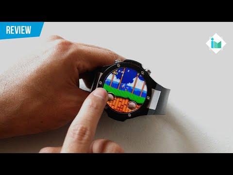 Microwear H2 Potente smartwatch - Reivew en español