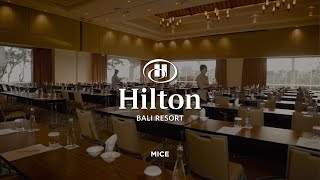Hilton Bali Resort | Hotel Video | MICE | Videographer