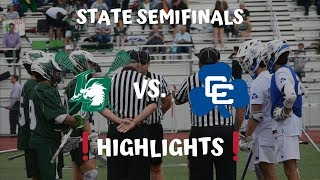 "STATE SEMIFINALS | LO Lax vs Catholic Central Highlights ""That's a Rack""  