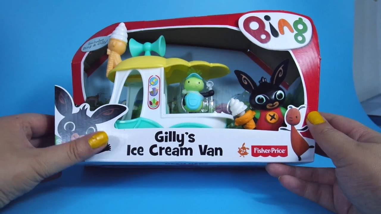 Gilly's Ice Cream Van Toy Review