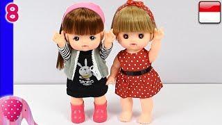 Mainan Boneka Eps 8 Koleksi Baju Boneka dan Bandana Lucu - GoDuplo TV
