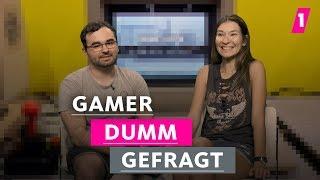 Gamer sind alle blass und verpickelt!   1LIVE Dumm Gefragt