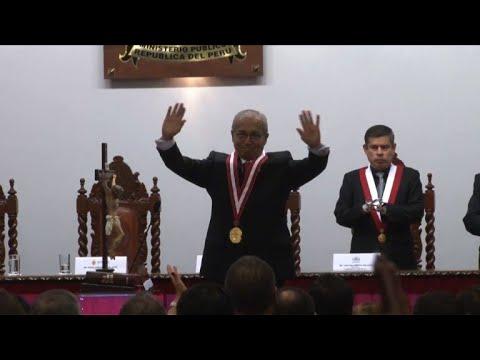 Novo procurador-geral do Peru assume em meio a escândalo