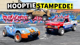 homepage tile video photo for Sending Hoopties Sky-High With the Gambler 500 Crew // HHH ep.017