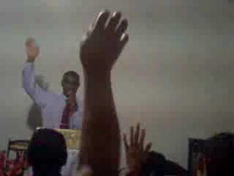 Pregando em Corta facão, Igreja do Deus Rocha Eterna