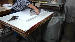 FL SALE FL SMITHE HP hydraulic envelope die cutting machine