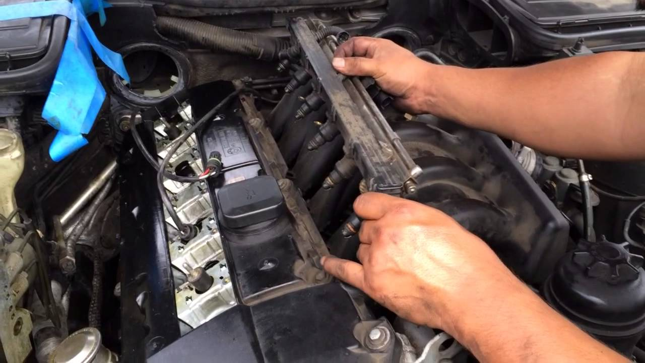How to remove fuel line bmw 5 series 3 series e90 e39 528i 328i m5 m3 youtube