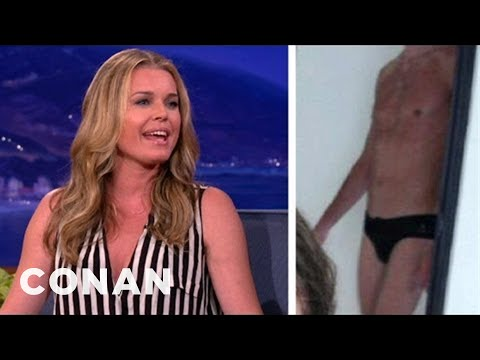 Rebecca Romijn Tweeted A SpeedoClad Jerry O'Connell