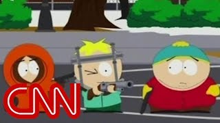 'South Park' takes on gun control issue in late...
