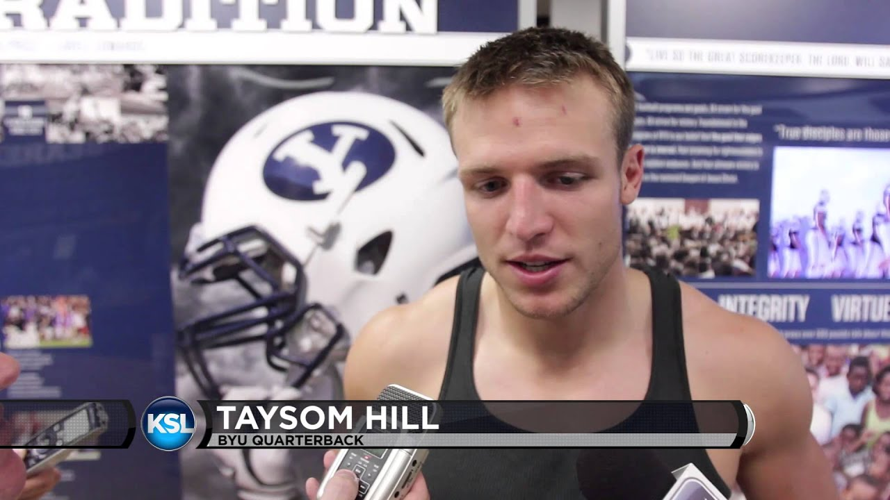 from injury Hill YouTube recovering discusses - knee Taysom