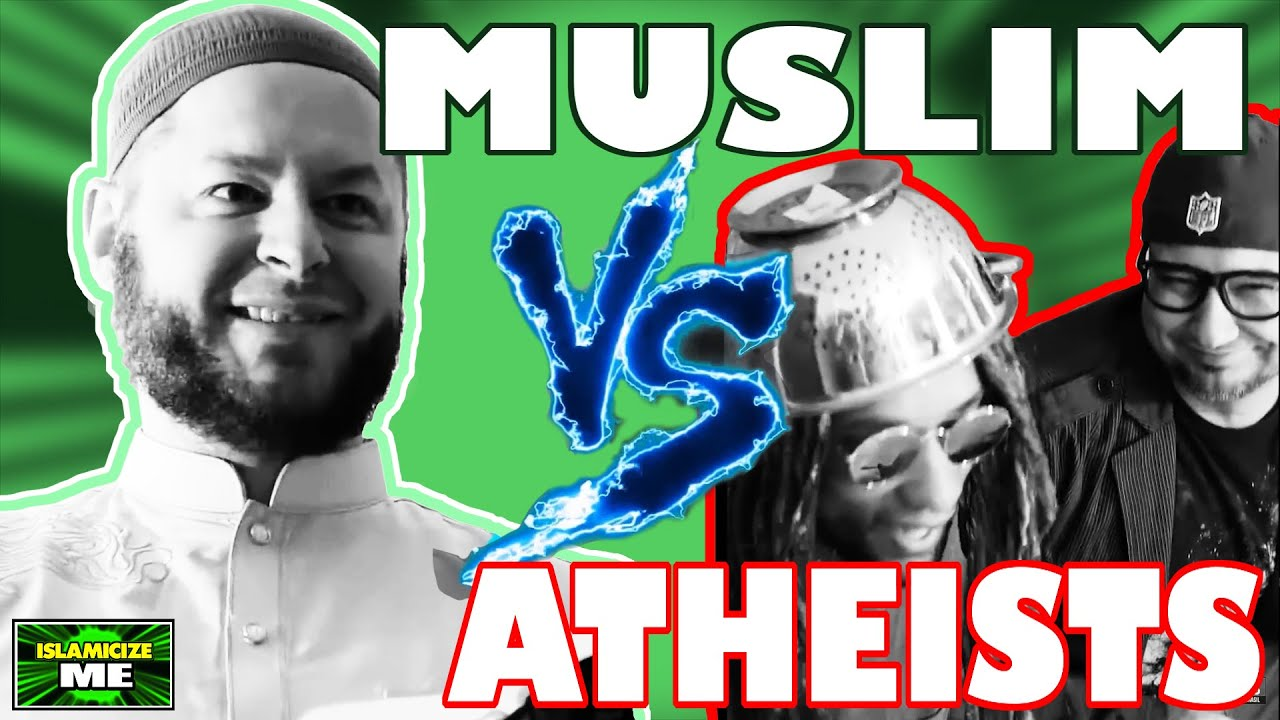 "Muslim ""Debates"" Two Atheists About Islam (Dawah) 