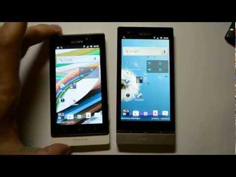 Sony Xperia P vs Xperia Sola: сравнение производительности (test)
