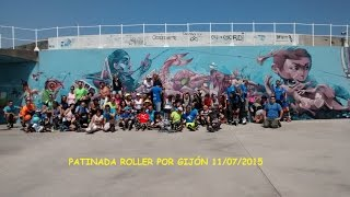 Patinada roller Gijon 2015