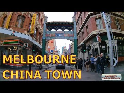 Visiting China Town in Melbourne City Centre CBD - Australia Mp3