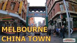 Visiting China Town in Melbourne City Centre CBD - Australia