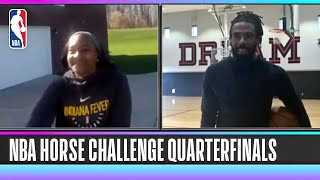 NBA HORSE Competition- Tamika Catchings vs. Mike Conley