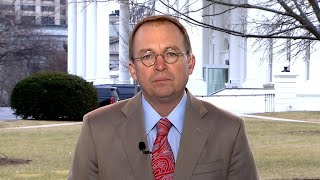 "OMB director Mulvaney on government shutdown, ""dysfunction"""