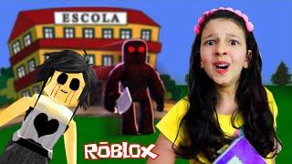 ROBLOX-El FANTASMA DE LA ESCUELA HAUNTED (Escuela Secundaria) Juegos de Luluca