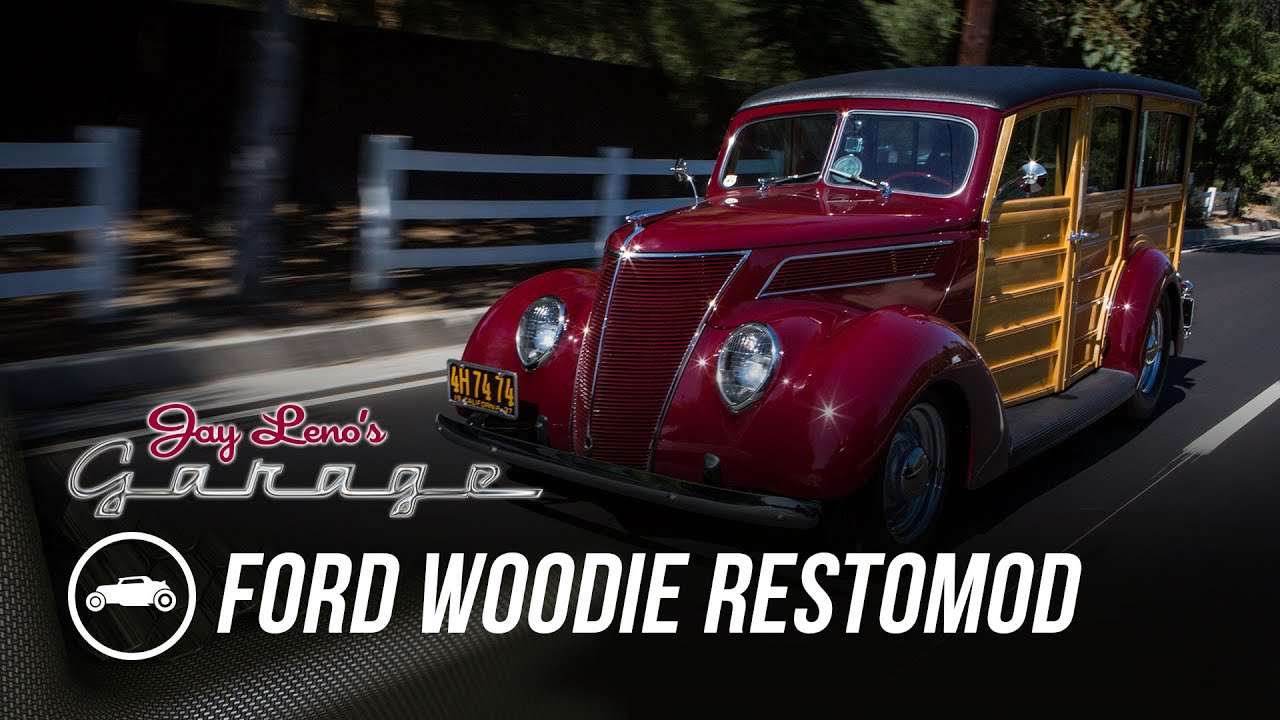 1937 Ford Woodie Restomod - Jay Leno's Garage