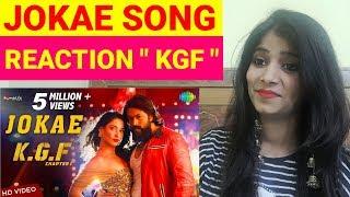 Jokae Song Reaction   Kannada Version   Reacts Jokae Kannada Song KGF