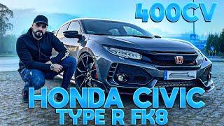 O MELHOR HATCHBACK DO MERCADO !!!! *Honda Civic Type R FK8*
