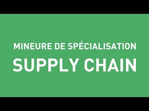 BBA4 - Présentation de la mineure Supply Chain
