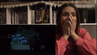Call Me By Your Name Official Trailer Reaction