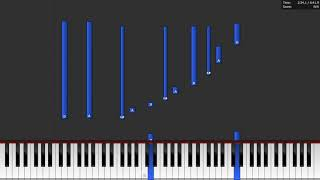 "Suppé: ""Poet and Peasant Overture"" (Piano Synthesia Tutorial)"