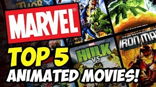 TOP 5 Marvel Animated Movies