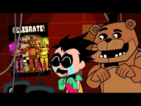 Five Nights at Freddy's Animated Short- Starring Robin