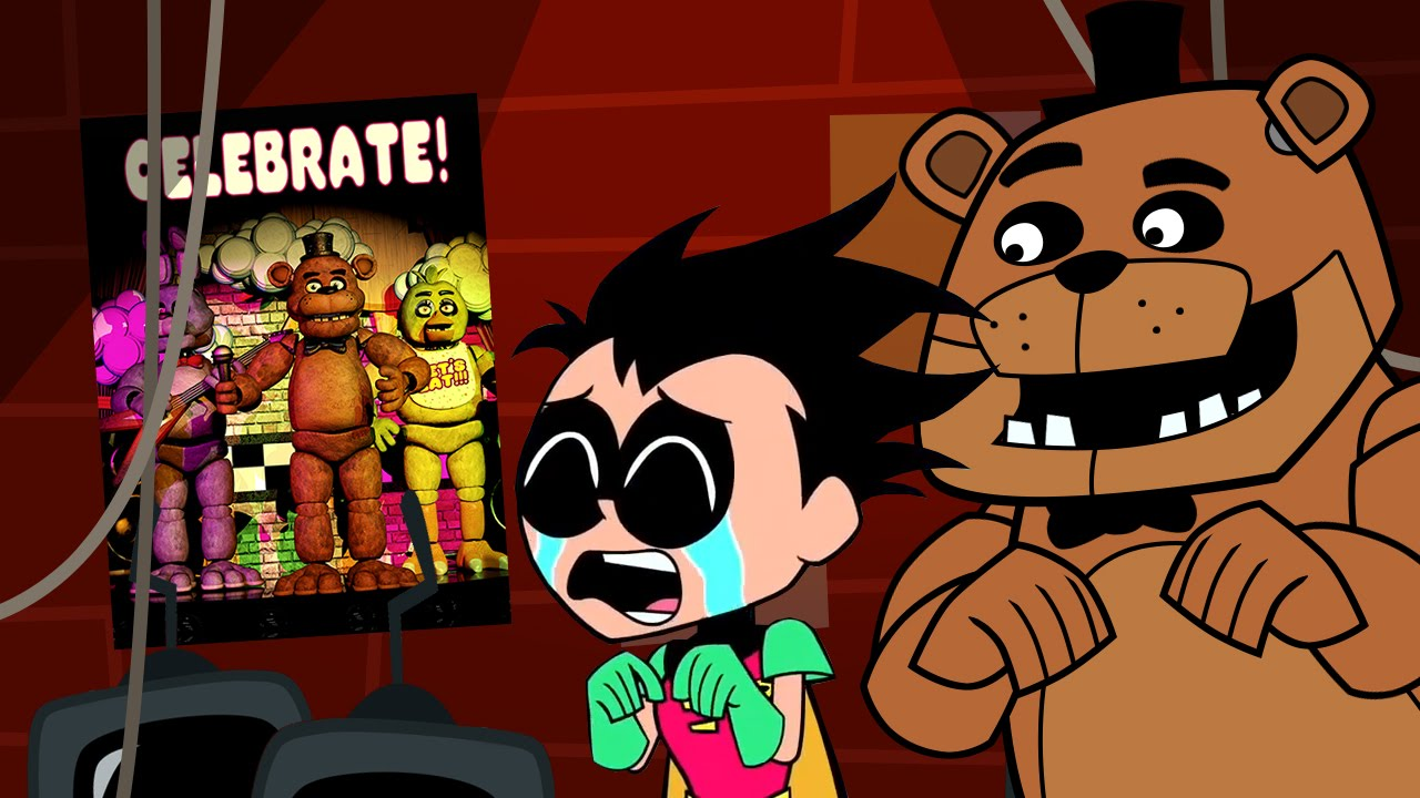 five nights at freddys animated short starring robin