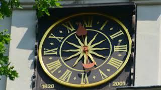Die Uhr der Alten Kirche Coswig
