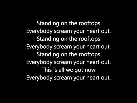 Lost Prophets  Rooftops Lyrics HQ