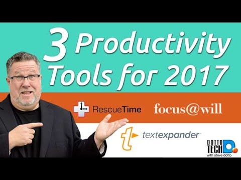 Productivity Tools For