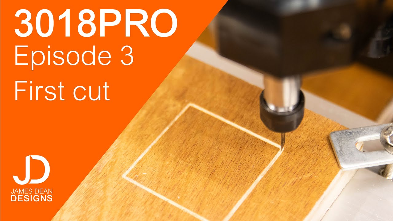 Download 3018 PRO - Making your first cut