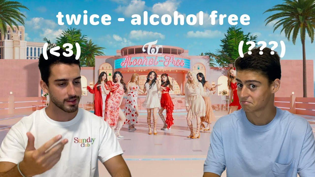 """NUESTRA SINCERA OPINIÓN DE TWICE / Reaccionamos a su nuevo single """"Alcohol-Free"""" M/V 😇"""