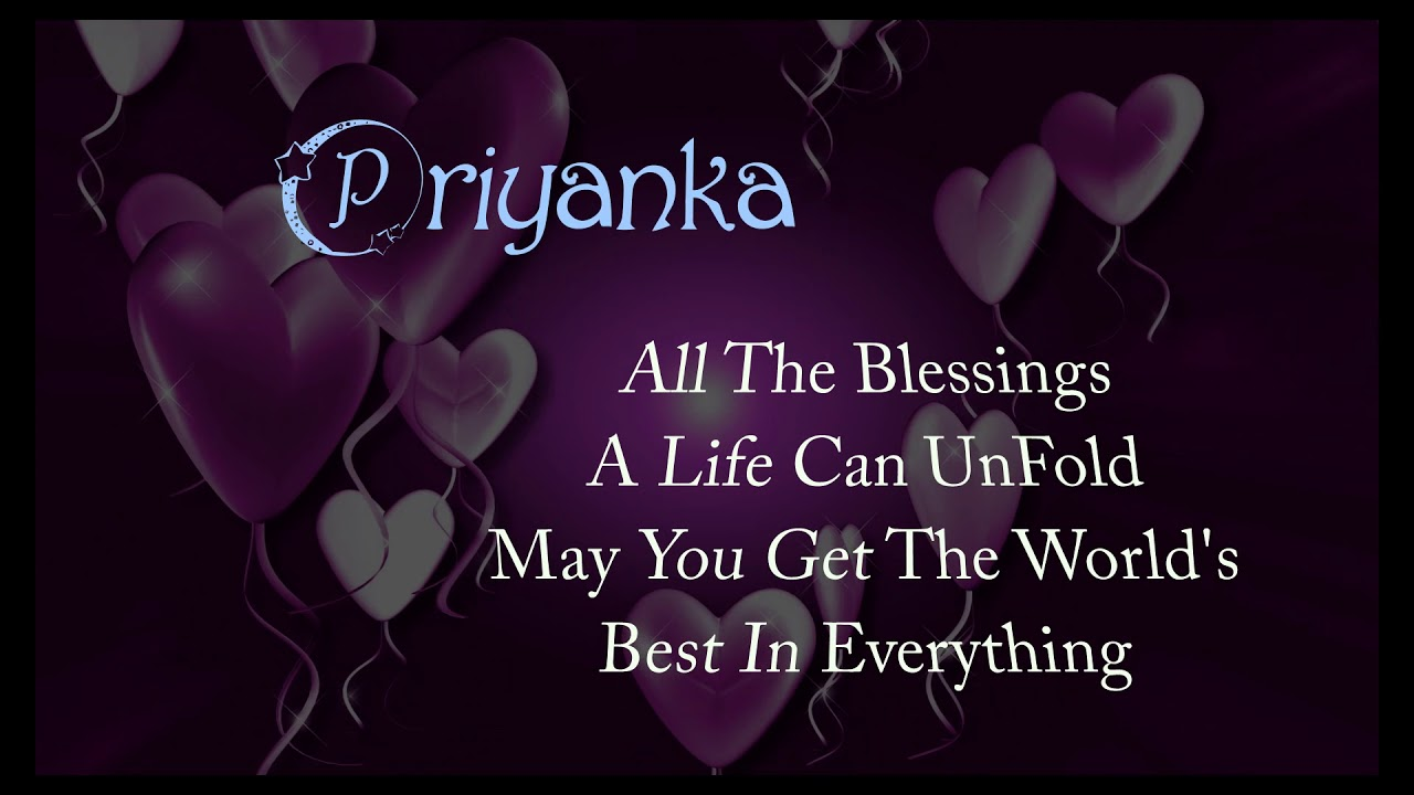 Priyanka Name Meaning With Birthday Youtube Not indicated on the source document of the. priyanka name meaning with birthday
