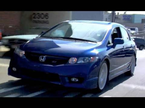 2010 Honda Civic Si HFP Sedan Review   YouTube