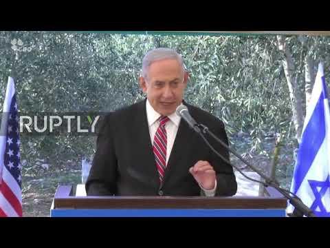 Jerusalem: Netanyahu hails Kushner's peace efforts at tree-planting ceremony