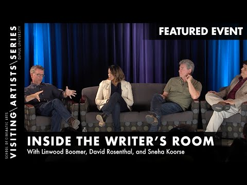 Linwood Boomer, David Rosenthal, Sneha Koorse Inside the Writer's Room, Page One 2015Part 5